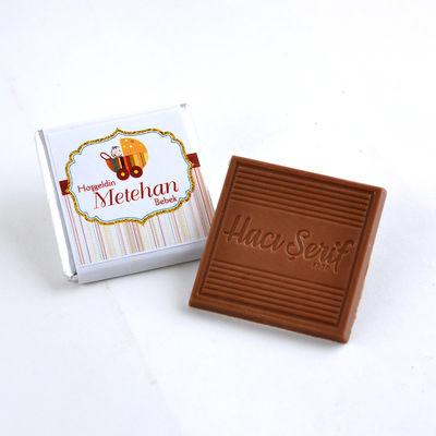 (Kampanya) Erkek Bebek Dökme 100 Adet Madlen Çikolata