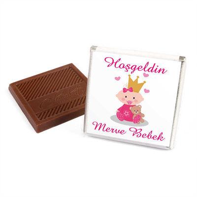 (Kampanya) Kız Bebek 70 Adet Çikolata+50 Adet Lokum