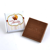 (Kampanya) Kız Bebek Dökme 100 Adet Madlen Çikolata - Thumbnail