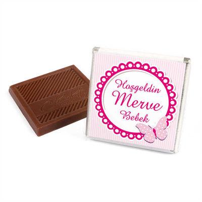 (Kampanya) Kız Bebek Dökme 100 Adet Madlen Çikolata