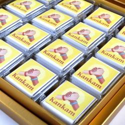 Hacı Şerif - Kankama Hediye Madlen Çikolata - Gold Kutu