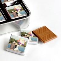 Kendi Fotoğrafınızla Doğum Günü Hediyesi (32 Adet Madlen Çikolata) Metal Kutu - Thumbnail