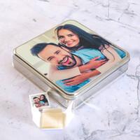 Kendi Fotoğrafınızla Hediye Lokum (Metal Kutu - 16 Adet) - Thumbnail
