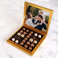 Hacı Şerif - Kendi Fotoğrafınızla Hediye Special Çikolata 285g (Gold Kutu)