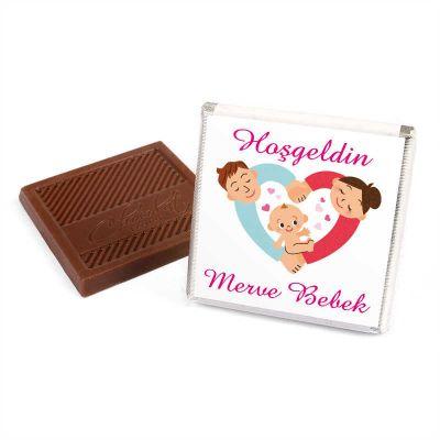 Kendin Yap Dökme Kız Bebek Çikolatası+Kolonya (70 Adet Madlen Çikolata)