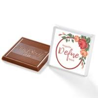 Kendin Yap Dökme Kız Bebek Çikolatası+Kolonya (70 Adet Madlen Çikolata) - Thumbnail