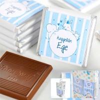 Hacı Şerif - Kendin Yap Erkek Bebek Dökme Bebek Çikolatası (70 Madlen Çikolata)