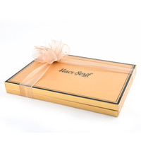 Kına Çikolatası (48 Adet Madlen Çikolata) (Model : 2) Gold Kutu - Thumbnail