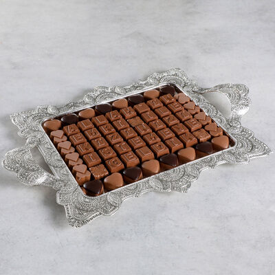 Kız İsteme Çikolatası (Küçük Tepsi)