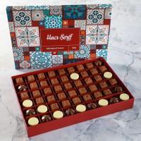 Hacı Şerif - Kız İsteme Çikolatası (Motif Desenli Kutu)