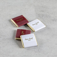 Krem Kutuda 32 Adet Sargılı Madlen Çikolata - Thumbnail