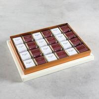 Krem Kutuda 48 Adet Sargılı Madlen Çikolata - Thumbnail