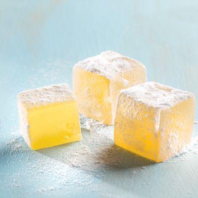 Limon Aromalı Lokum (500g)