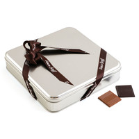 Madlen Çikolata 400g Metal Gümüş Kutu - Thumbnail