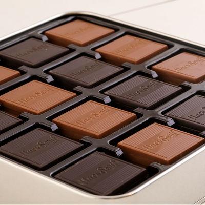 Madlen Çikolata 400g Metal Gümüş Kutu