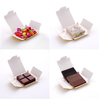 Mesajlı Fotoğraflı Sevgiliye Hediye Çikolata (4 Farklı Lezzet)