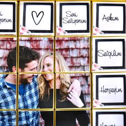Mesajlı Fotoğraflı Sevgiliye Hediye Çikolata (4 Farklı Lezzet) - Thumbnail