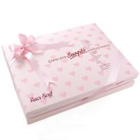 - İlk Diş İsme Özel Kız Bebek Çikolatası (48 Adet Madlen+Sunum Kutusu)