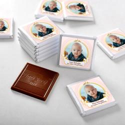 Mevlid Fotoğraflı Kız Bebek Çikolatası (70 Adet Madlen) - Thumbnail