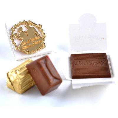 Nikah Çikolatası (Ahşap Tepsi)