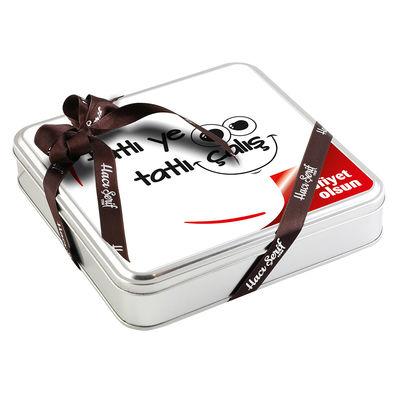 Ofis ve Yeni İş Hediyesi 32 Adet Madlen Çikolata (Metal Kutu)