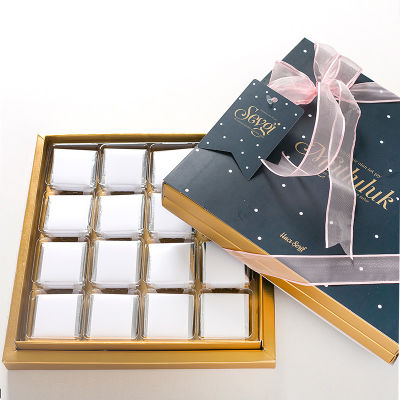Özel Kutulu Doğum Günü Hediyesi 32 Adet Madlen Çikolata - 220g