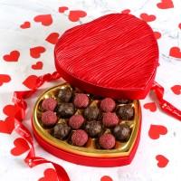 Hacı Şerif - Sevgililer Günü Hediyesi Special Truffle (Kalp Kutu)