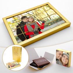 Sevgililer Günü Hediyesi Yapboz Çikolata - Thumbnail