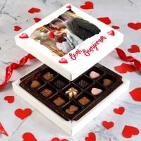 Hacı Şerif - Fotoğraflı Sevgililer Gününe Özel Special Çikolata (Minik Lezzetler) Model:1