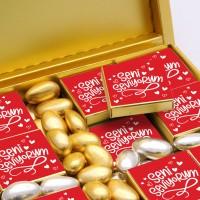 Sevgiliye Hediye 4 Farklı Lezzet + Draje (32li Paket) - Thumbnail