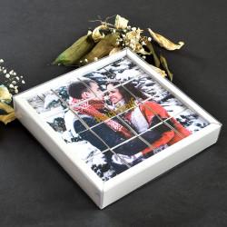 - Sevgiliye Hediye Fotoğraflı Yapboz Çifte Kavrulmuş Lokum 16 Adet