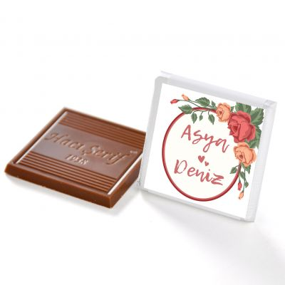 Söz Nişan 32 Adet Madlen Çikolata (Gold Kutu)