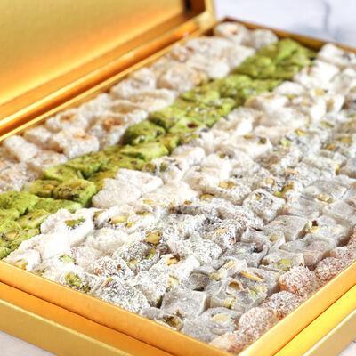 Special Çifte Kavrulmuş Lokum 1100g (Gold Kutu)