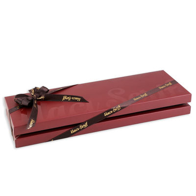 Special Tahinli Truffle Çikolata Bordo Kutu 33 Adet