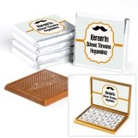 Hacı Şerif - Sünnet Çikolatası 72 Madlen Gold Kutu