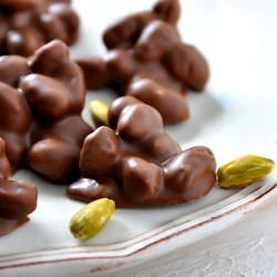 Hacı Şerif - Sütlü Antep Fıstıklı Roş Çikolata 360g