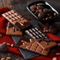 Sütlü Bitter Tablet Çikolata - Thumbnail
