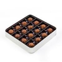 Tahinli Truffle Çikolata (Metal Kutu) - Thumbnail