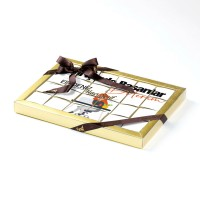 Yeni İşinde Başarılar Kadın 24'lü Puzzle Çikolata (Madlen Çikolata) - Thumbnail