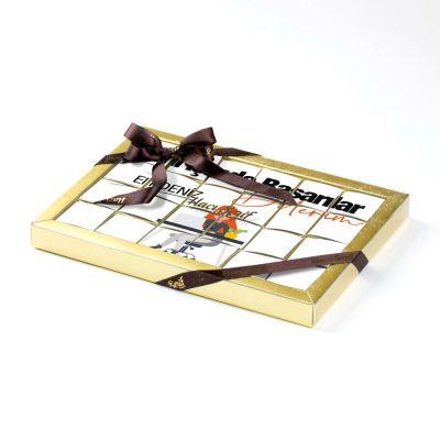 Yeni İşinde Başarılar Kadın 24'lü Puzzle Çikolata (Madlen Çikolata)